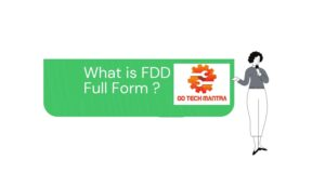 What is FDD Full Form