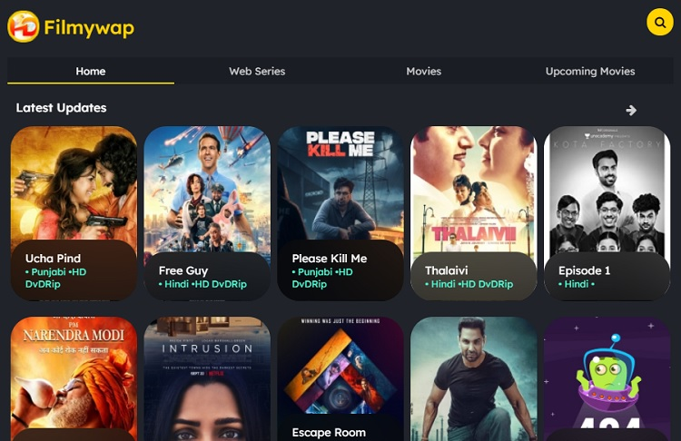 Filmywap 2021 – Download Latest Bollywood, Hollywood, Punjabi Movies